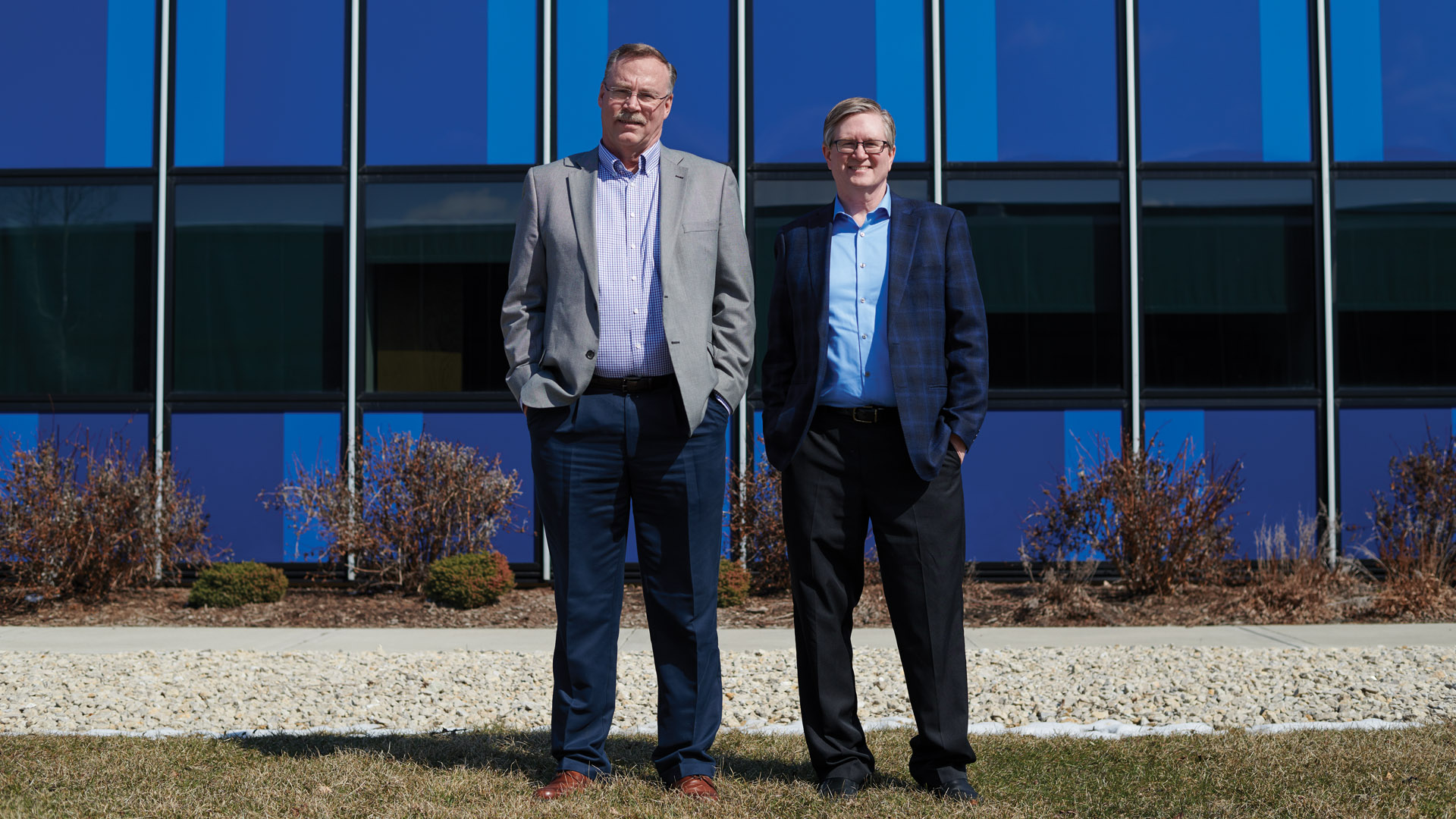 Photo of IBMers Dave Nelson and Steve Will