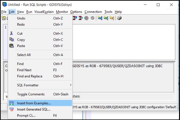 Create Your Own Templates With IBM's Run SQL Scripts   IBM