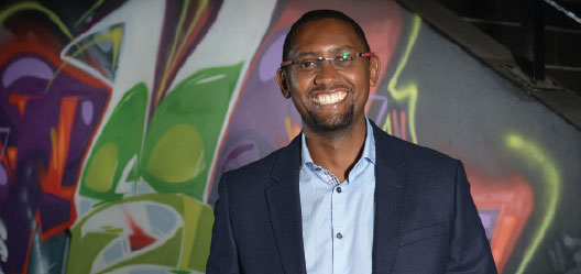 Dr. Solomon Assefa, director of IBM Research Africa