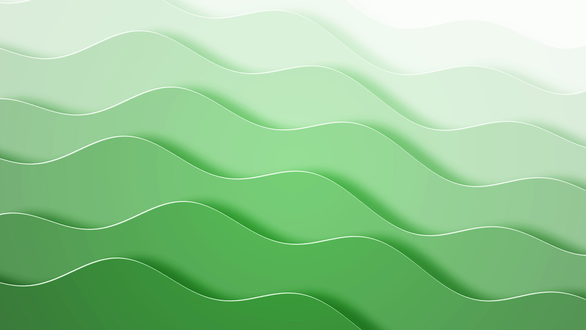 Green layered waves
