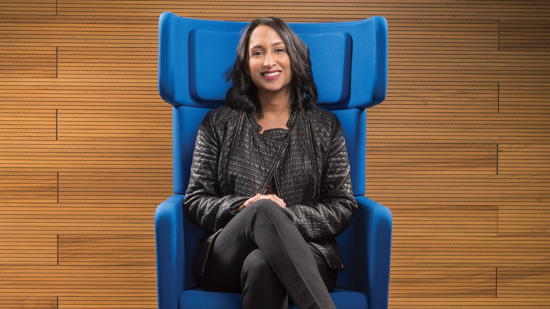 Priya Doty, vice president, Product Marketing, IBM Z and LinuxONE, is photographed.